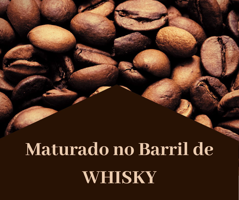 Café Especial em Grão (MATURADO WHISKEY) Fazenda Barinas /MG - 250 Gramas