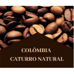 Café Especial em Grão (Colômbia) Caturro Natural