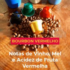 Cápsula de Café Especial (Bourbon Vermelho) Sítio Niquinho